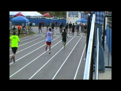 Area 7 games Roy 200 meter race