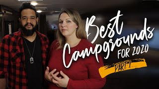 BEST RV CAMPGROUNDS FOR 2020 / Part I