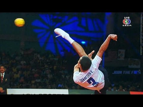 ISTAF SuperSeries FINALS 2013/14 Men's Final [Thailand - Malaysia] SET1