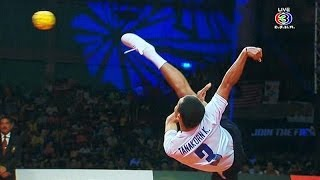 Repeat youtube video ISTAF SuperSeries FINALS 2013/14 Men's Final [Thailand - Malaysia] SET1