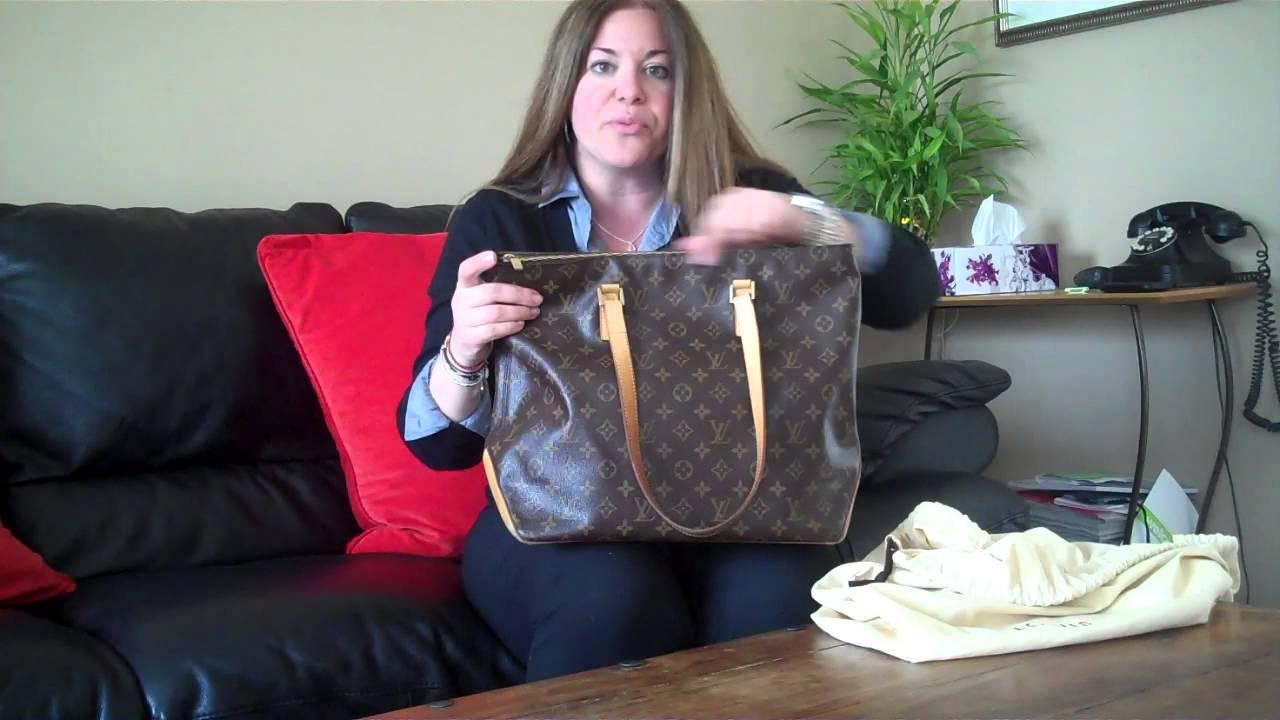 e96751acc56d Louis Vuitton Cabas Mezzo Review - YouTube