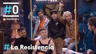 LA RESISTENCIA - Entrevista a Cupido   #LaResistencia 13.02.2019