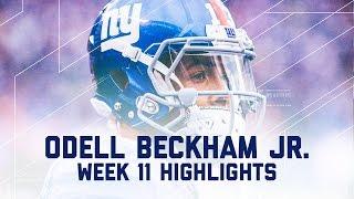 Every Odell Beckham Jr. Target | Bears vs. Giants | NFL Week 11 Player Highlights