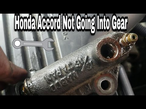 Can't shifts🚦The first thing to Check🚦Car will not go into Gear🛑Read Description Honda accord %