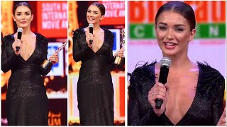 Amy Jackson's Cute Tamil Speech about her fashion hits and flops