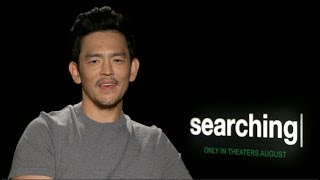 SEARCHING movie interviews - John Cho, Debra Messing - Along Came Polly, Will And Grace