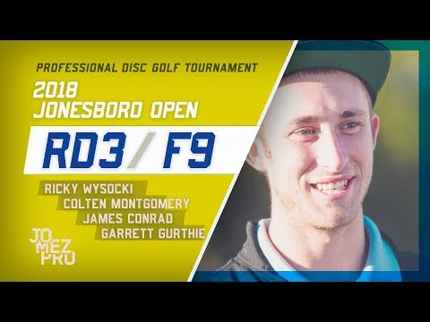 2018 Jonesboro Open | Final Rd, F9, Lead Card | Wysocki, Conrad, Gurthie, Montgomery