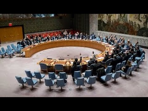 United Nations - LIVE - Security Council