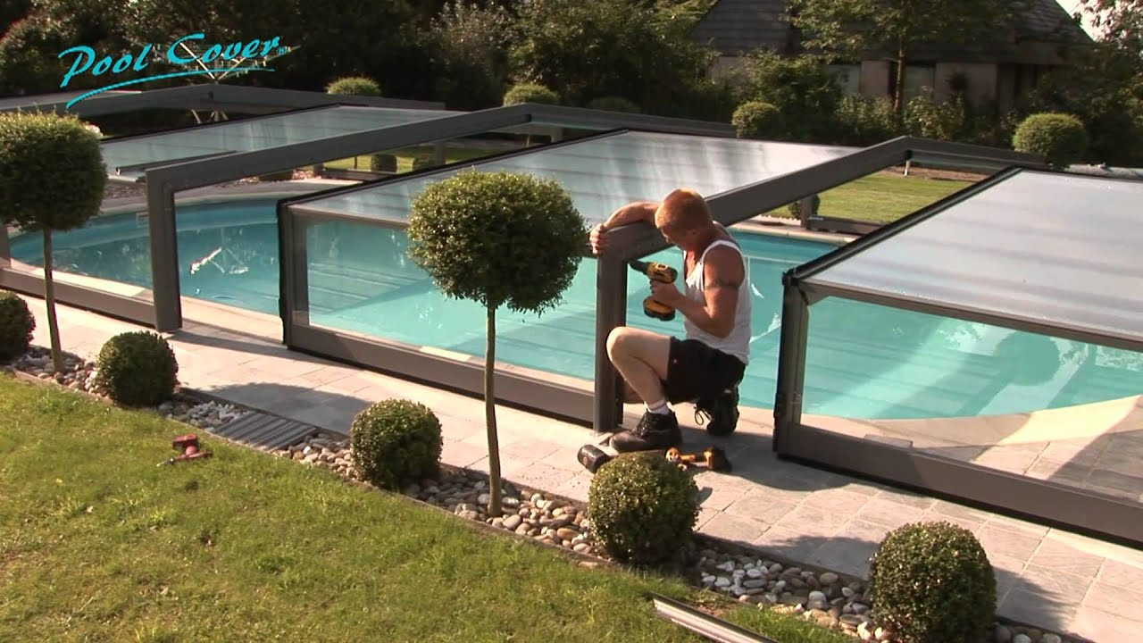 pool cover abris piscine fabricant et sp cialiste abris de piscines youtube. Black Bedroom Furniture Sets. Home Design Ideas