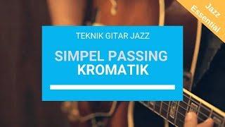 Metode Passing Notes: Teknik Gitar Jazz