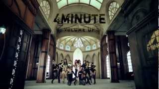 4minute - Volume Up Official Music Video @ www.OfficialVideos.Net