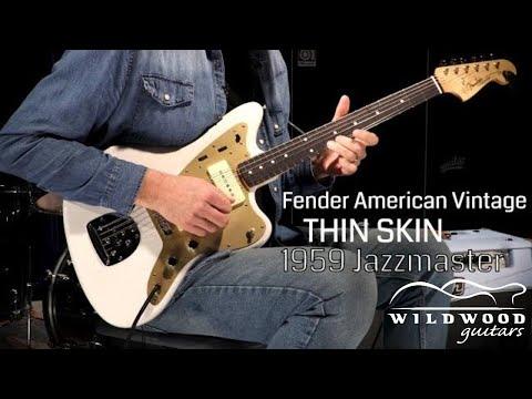 Fender American Vintage Thin Skin 1959 Jazzmaster  •  Wildwood Guitars