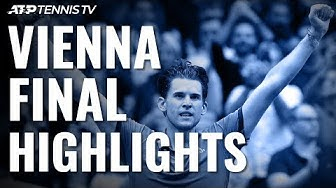 Dominic Thiem Outlasts Schwartzman To Win First Vienna Title! | Vienna 2019 Final Highlights