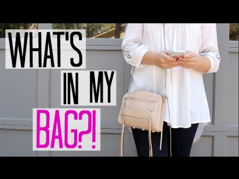 What's In My Bag?! ft. Rebecca Minkoff