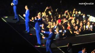 Nick Carter's Group Intro + Permanent Stain ~ Backstreet Boys [Live in Manila 2015]