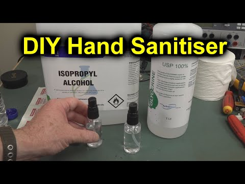 Pro Tip Diy Hand Sanitiser Youtube