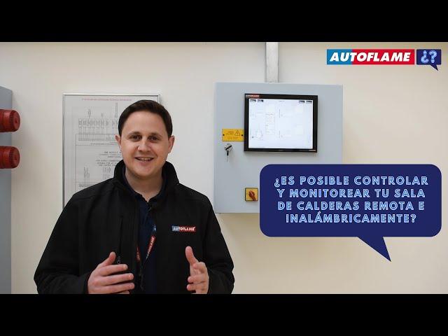 ¿Es posible controlar y monitorear tu sala de calderas remota e inalámbricamente?
