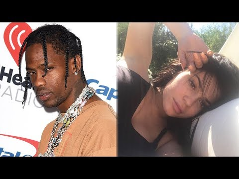 Travis Scott FACETIMES Kylie Jenner At Event & She Hints At Pregnancy?