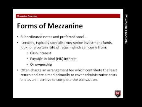 CPEP   Mezzanine Financing