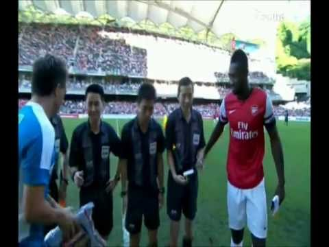 Time to say goodbye- Roberto Losada Rodríguez (盧比度) VS Arsenal 2012