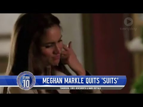 A Royal Update: Meghan Markle Quits 'Suits'  Studio 10