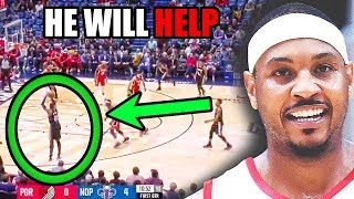 This is Why Carmelo Anthony HELPS The Trail Blazers In The NBA (Ft. Damian Lillard, Midranges)