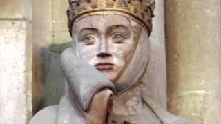 """13. Stifterfigur """"Uta"""" des Naumburger Meisters, um 1250, Naumburg, Deutschland"""