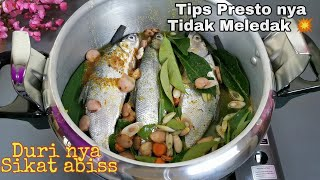 HOW TO MAKE UNBROKEN SOFT BONE PRESSURE COOKED MILKFISH