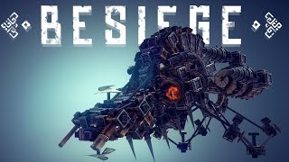 Besiege Best Creations - Huge Ornithopter, Skateboard, AMAZING WEAPONS & More!