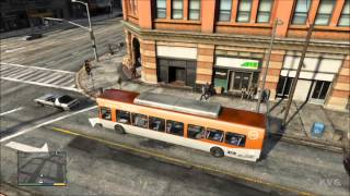 Grand Theft Auto 5 - Bus Driving Gameplay [HD]