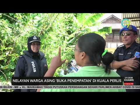 Nelayan Warga Asing 'Buka Penempatan' Di Kuala Perlis