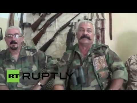 Armenian fighters of north Iraq