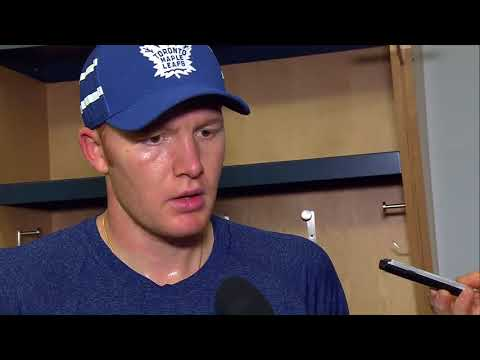 Maple Leafs Practice: Frederik Andersen - October 16, 2017