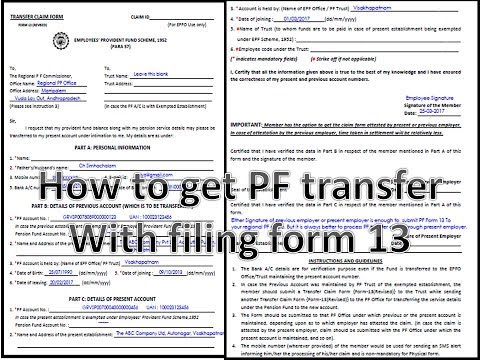 Pf form 23 pdf to jpg