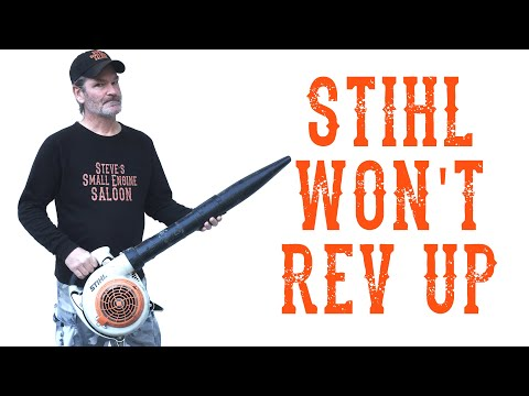 How Do I Quickly Repair a Stihl that Won't Rev Up