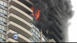 3 dead as 5-alarm fire in Marco Polo building declared under control