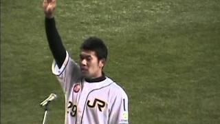 2011.10.22 第82回都市対抗野球 選手宣誓 JR東日本東北(仙台市) 主将...