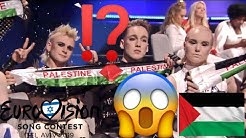 Eurovision 2019 in Israel - Island solidarisiert sich für Palästina mit Palästinensischen Flaggen