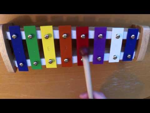 Alle meine Entchen / All my little ducklings (Xylophone)
