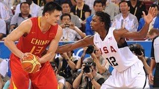 China vs USA 2008 Beijing Olympics Men's Basketball Group Match FULL GAME HD 720p English