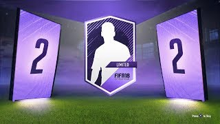 HERO CARD! 30 x 2 PLAYER PACKS - FIFA 18 Ultimate Team