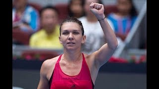 Simona Halep closes in on No.1 ranking after reaching China Open semis