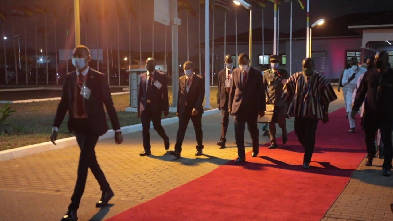 Résumé de la visite de travail du Président Bazoum à Accra au Ghana.