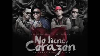 NUEVO REGGAETON 2016  / Alexis Y Fido Ft Codigo Secreto - No Tiene Corazón