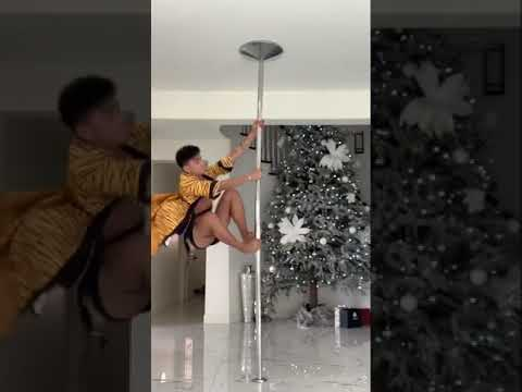 Pole Dancing Skills Of Bretman Rock