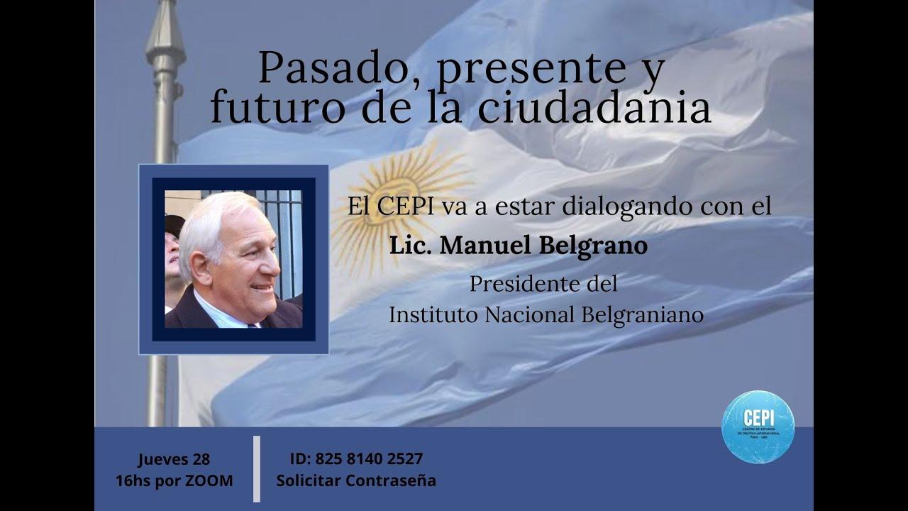 Entrevista a Manuel Belgrano