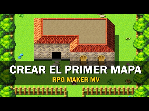 RPG Maker MV - Tutorial en Español #1- Crear el primer mapa - YouTube