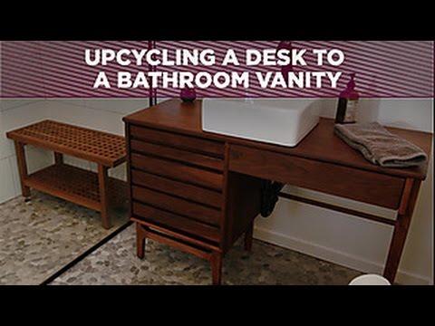 Upcycle a Bathroom Vanity