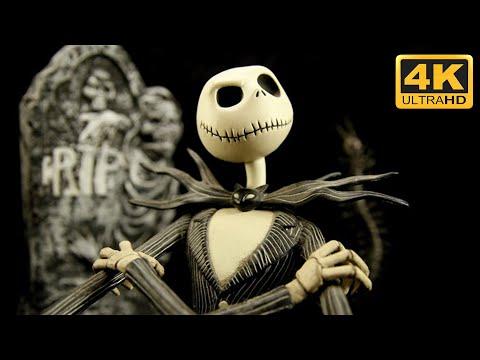 The Nightmare Before Christmas - This Is Halloween (Lyrics) [4K HD]