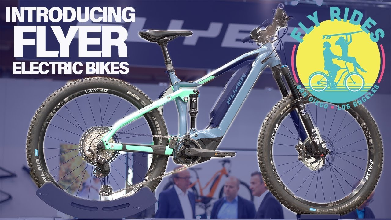 Best Electric Bikes 2020.Flyer Electric Bikes 2020 Lineup Best Of Eurobike 2019